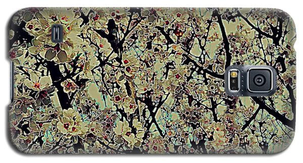 Abstract Blossoms Galaxy S5 Case