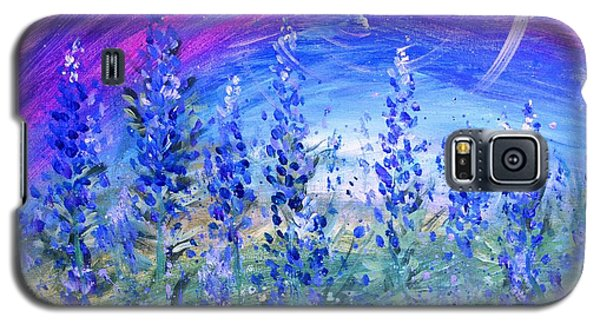 Abstract Bluebonnets Galaxy S5 Case