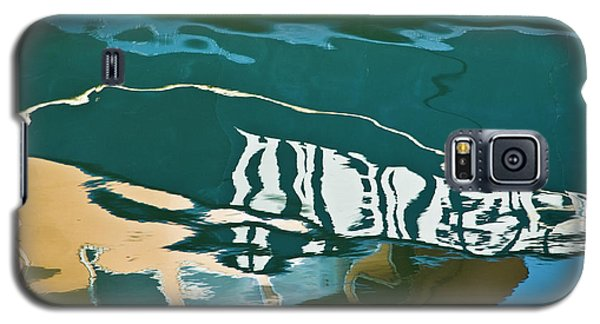 Abstract Boat Reflection Galaxy S5 Case