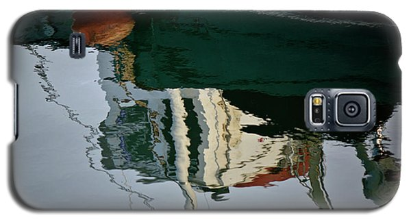 Abstract Boat Reflection II Galaxy S5 Case