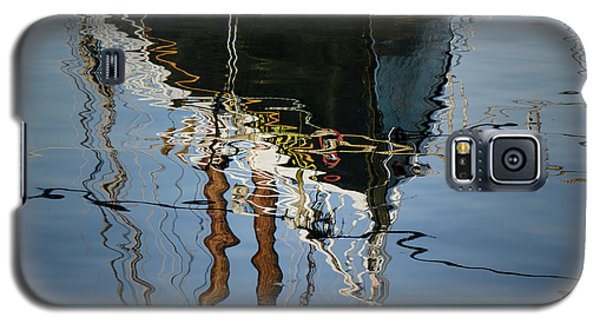 Abstract Boat Reflection IIi Galaxy S5 Case