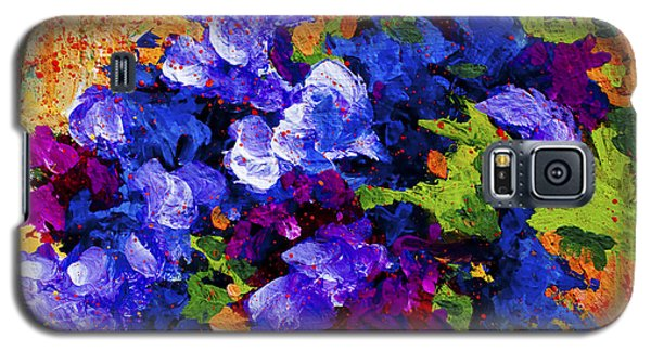 Daisy Galaxy S5 Case - Abstract Boquet 3 by Marion Rose