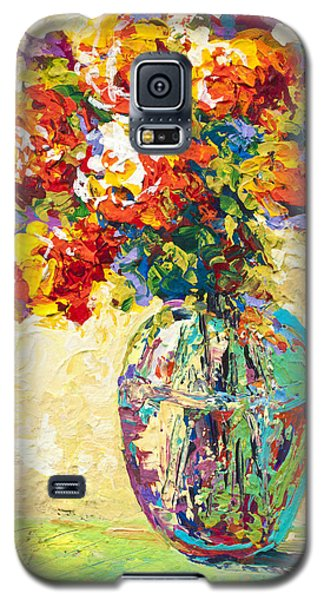 Abstract Boquet Iv Galaxy S5 Case