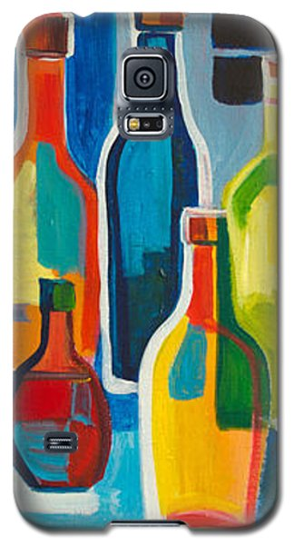 Abstract Bottles Galaxy S5 Case