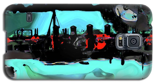 Abstract Bridge Of Lions Galaxy S5 Case by Gina O'Brien