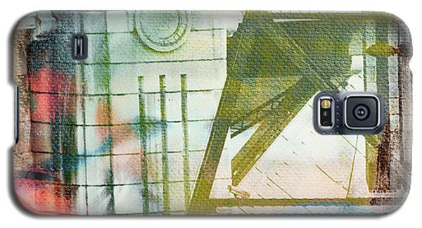 Abstract Bridge With Color Galaxy S5 Case by Susan Stone