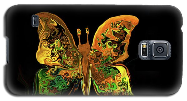Abstract Butterfly Galaxy S5 Case