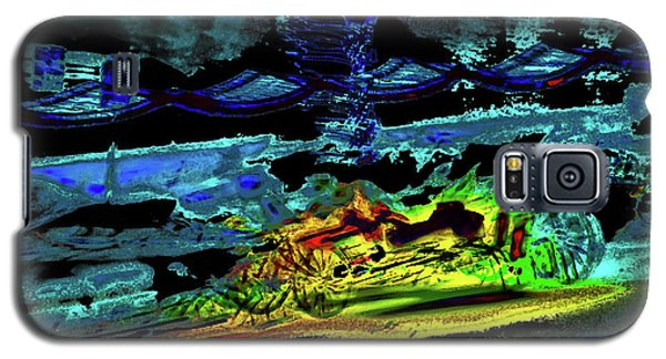 Abstract Carriage Ride Galaxy S5 Case