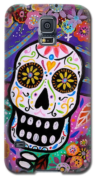 Abstract Catrina Galaxy S5 Case by Pristine Cartera Turkus
