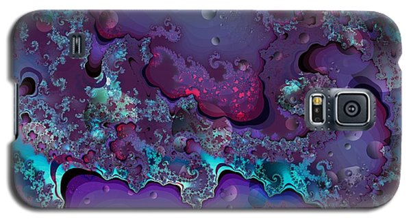 Galaxy S5 Case featuring the digital art Abstract Chaotic by Michelle H