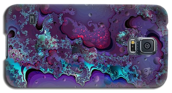 Abstract Chaotic Galaxy S5 Case