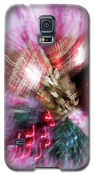 Galaxy S5 Case featuring the photograph Abstract Christmas 5 by Rebecca Cozart