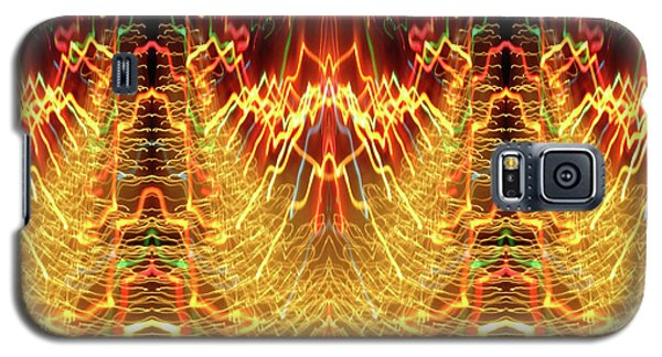 Abstract Christmas Lights #175 Galaxy S5 Case