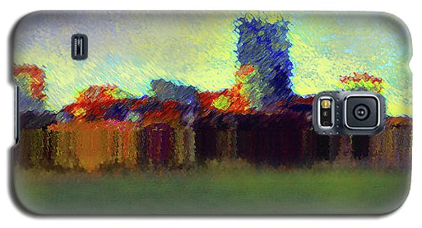 Abstract City   Galaxy S5 Case