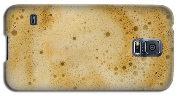 Galaxy S5 Case featuring the photograph Abstract Coffee by Brian Roscorla