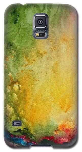 Abstract Color Splash Galaxy S5 Case