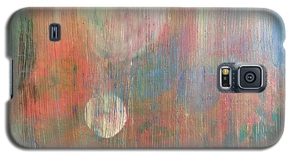 Abstract Confetti Galaxy S5 Case by Paula Brown