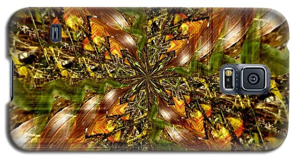 Abstract Cornfield 1 Galaxy S5 Case