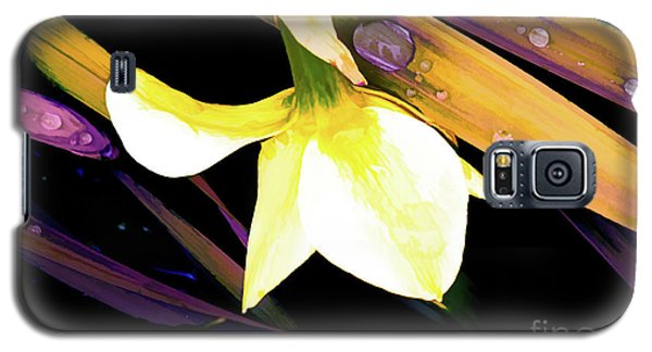Abstract Daffodil And Droplets Galaxy S5 Case