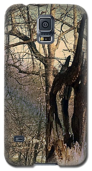Abstract Dead Tree Galaxy S5 Case