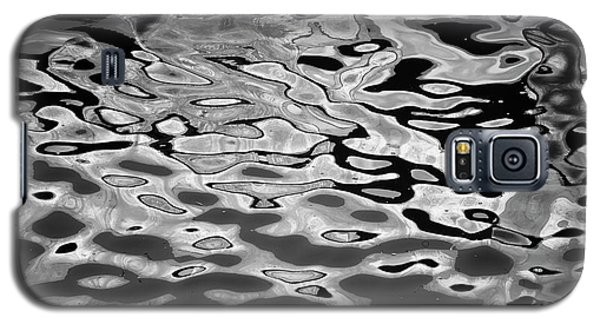 Abstract Dock Reflections I Bw Galaxy S5 Case