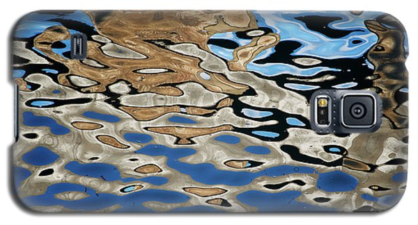 Abstract Dock Reflections I Color Galaxy S5 Case