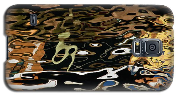 Abstract Dock Reflections II Color Sq Galaxy S5 Case