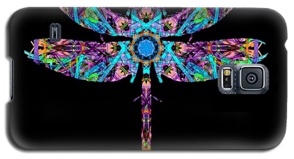 Abstract Dragonfly Galaxy S5 Case