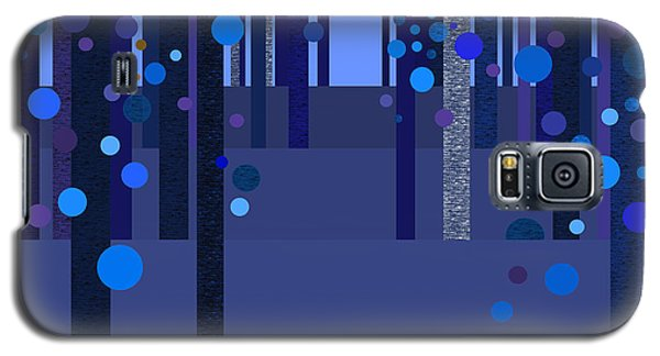 Abstract Dreamscape - Blues Galaxy S5 Case