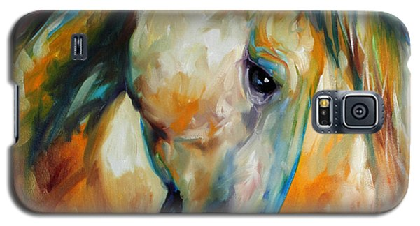 Abstract Equine Eccense Galaxy S5 Case