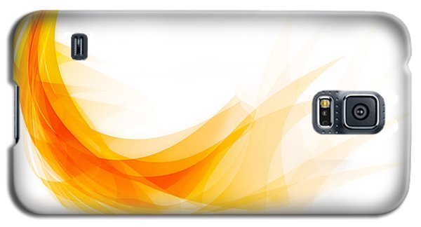Abstract Feather Galaxy S5 Case