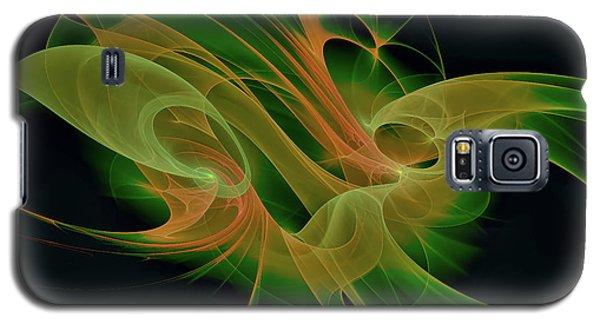 Galaxy S5 Case featuring the digital art Abstract Ffz by Deborah Benoit