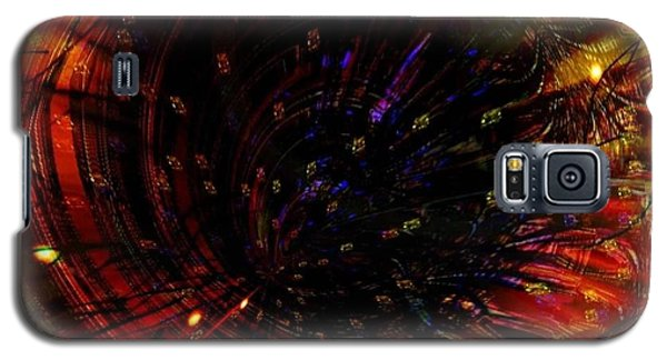 Abstract Fire  Flyer Nest Galaxy S5 Case