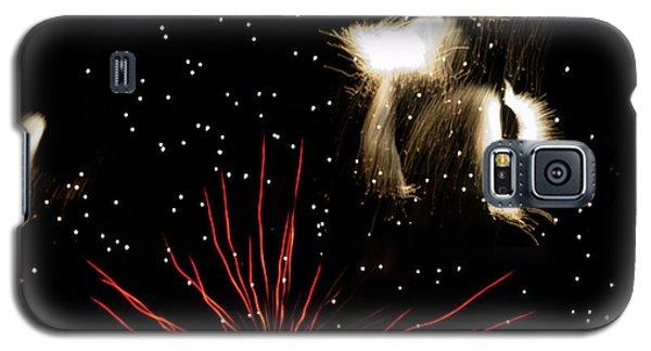 Abstract Fireworks IIi Galaxy S5 Case