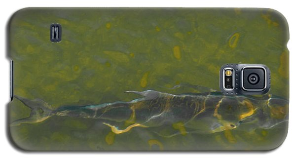 Galaxy S5 Case featuring the photograph Abstract Fish 2 by Carolyn Dalessandro