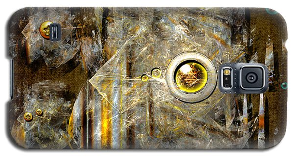 Abstract Fish Galaxy S5 Case