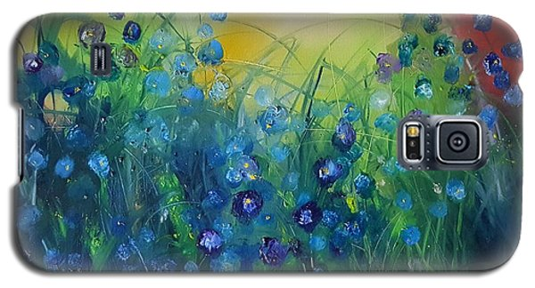 Abstract Flax           31 Galaxy S5 Case