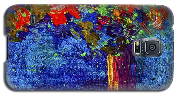 Abstract Floral 2 Galaxy S5 Case