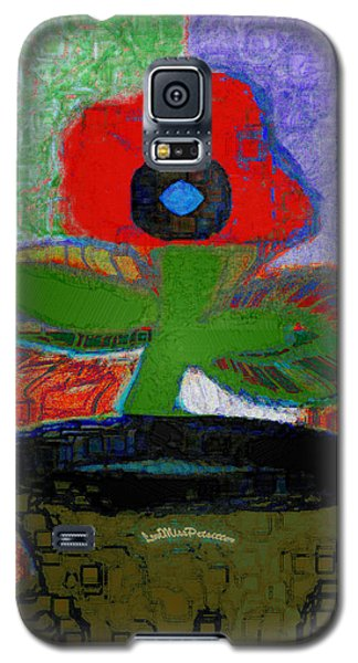 Abstract Floral Art 105 Galaxy S5 Case