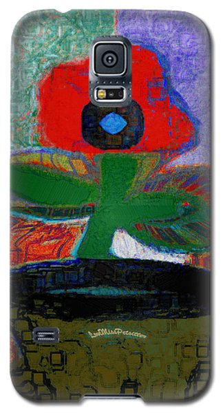 Abstract Floral Art 108 Galaxy S5 Case