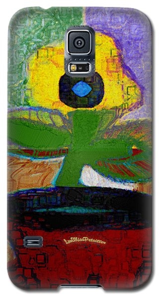 Abstract Floral Art 112 Galaxy S5 Case
