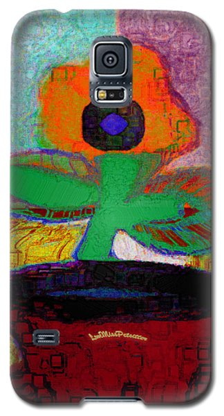 Abstract Floral Art 116 Galaxy S5 Case