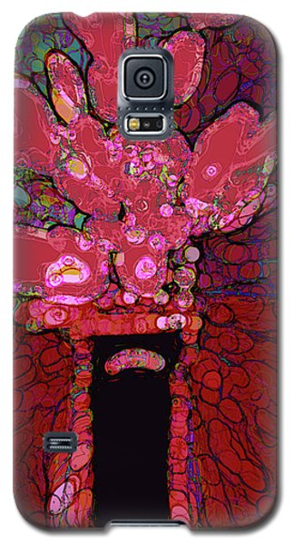 Abstract Floral Art 160 Galaxy S5 Case