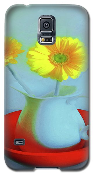 Abstract Floral Art 268 Galaxy S5 Case