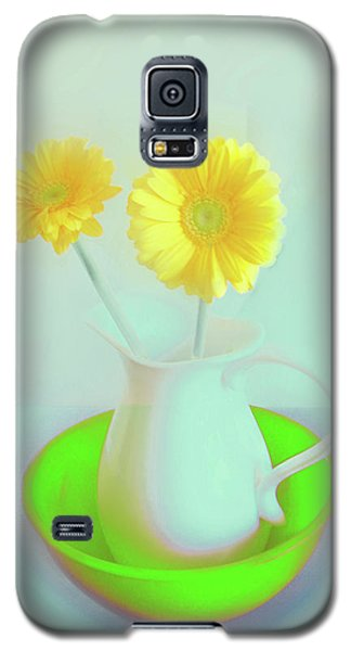 Abstract Floral Art 273 Galaxy S5 Case