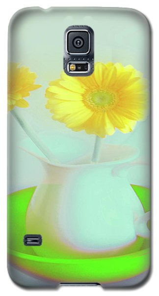 Abstract Floral Art 275 Galaxy S5 Case