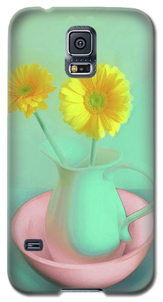 Abstract Floral Art 282 Galaxy S5 Case
