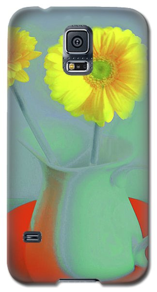 Abstract Floral Art 300 Galaxy S5 Case