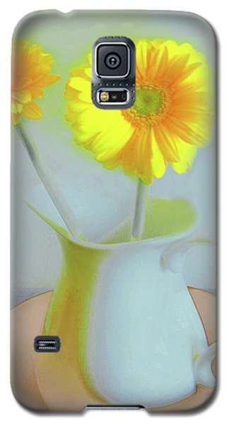 Abstract Floral Art 303 Galaxy S5 Case