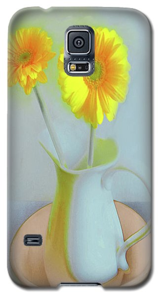 Abstract Floral Art 304 Galaxy S5 Case